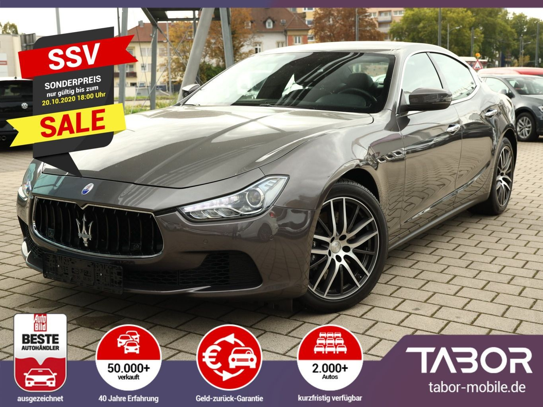Maserati Ghibli 3.0 V6 D275 AUT Leder Nav SchiebeD Kam, Jahr 2017, Diesel