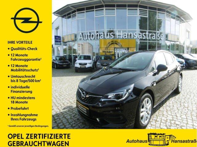 Opel Astra 1.2 Turbo 107kW Edition AUTO, WINTER-PAKET, Jahr 2020, Benzin