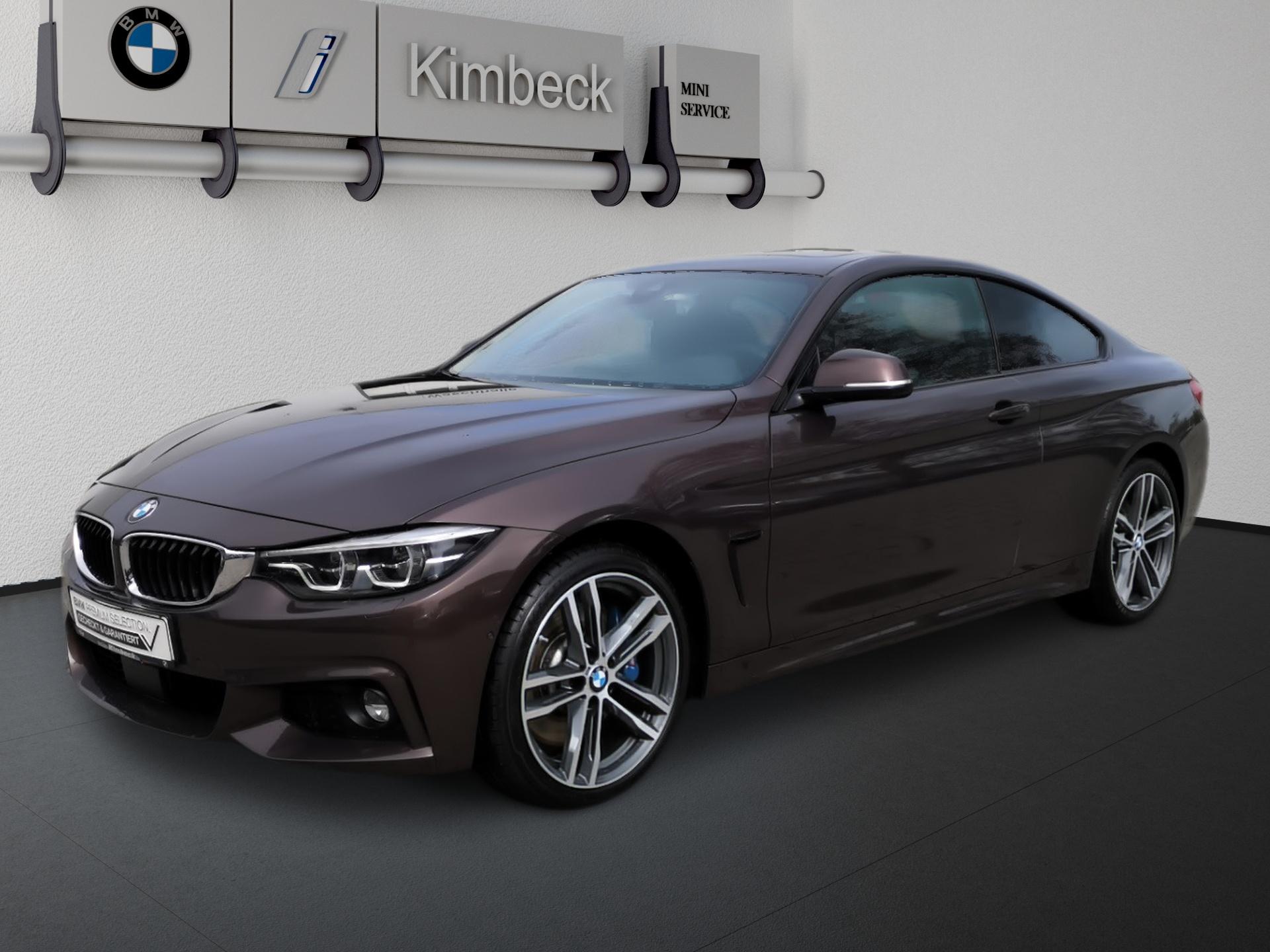 BMW 435d xDrive Coupé Headup Panorama 2J Garantie, Jahr 2017, Diesel