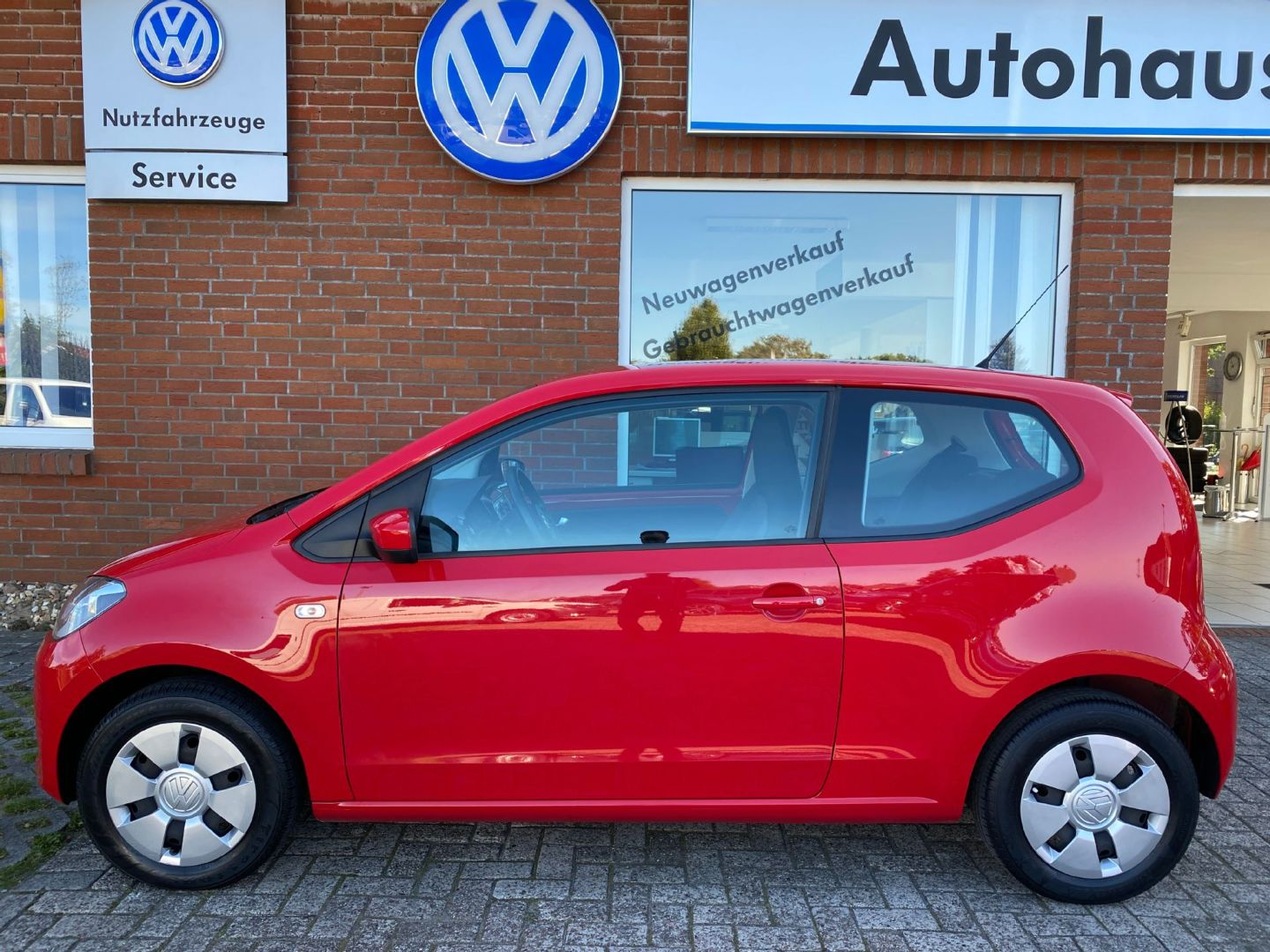 Volkswagen up! move up! 1,0 l 44 kW (60 PS) 5-Gang Modell 2, Jahr 2014, Benzin