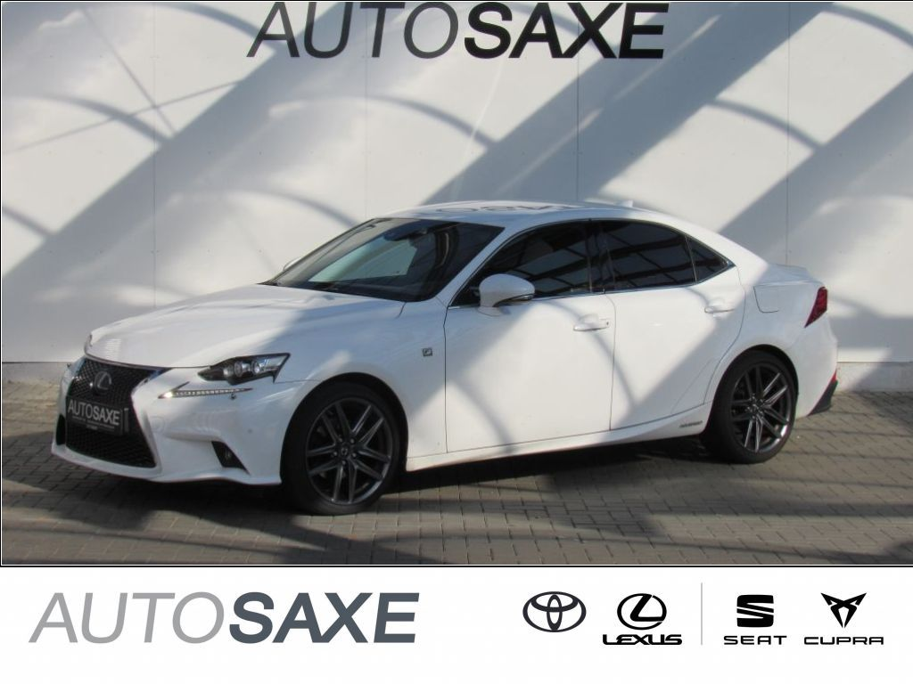 Lexus IS 300h F Sport*LED*NAVI*LEDER*KLIMA*KAMERA*LMR*, Jahr 2017, Hybrid