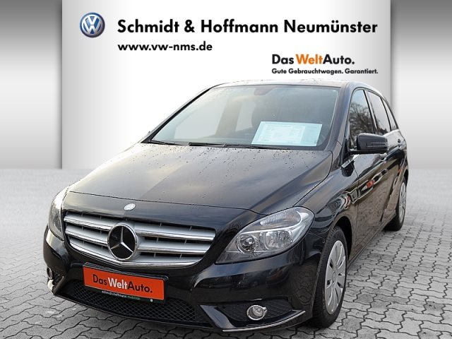 Mercedes-Benz B 200 1.6 BlueEfficiency Klima Navi LED, Jahr 2013, petrol