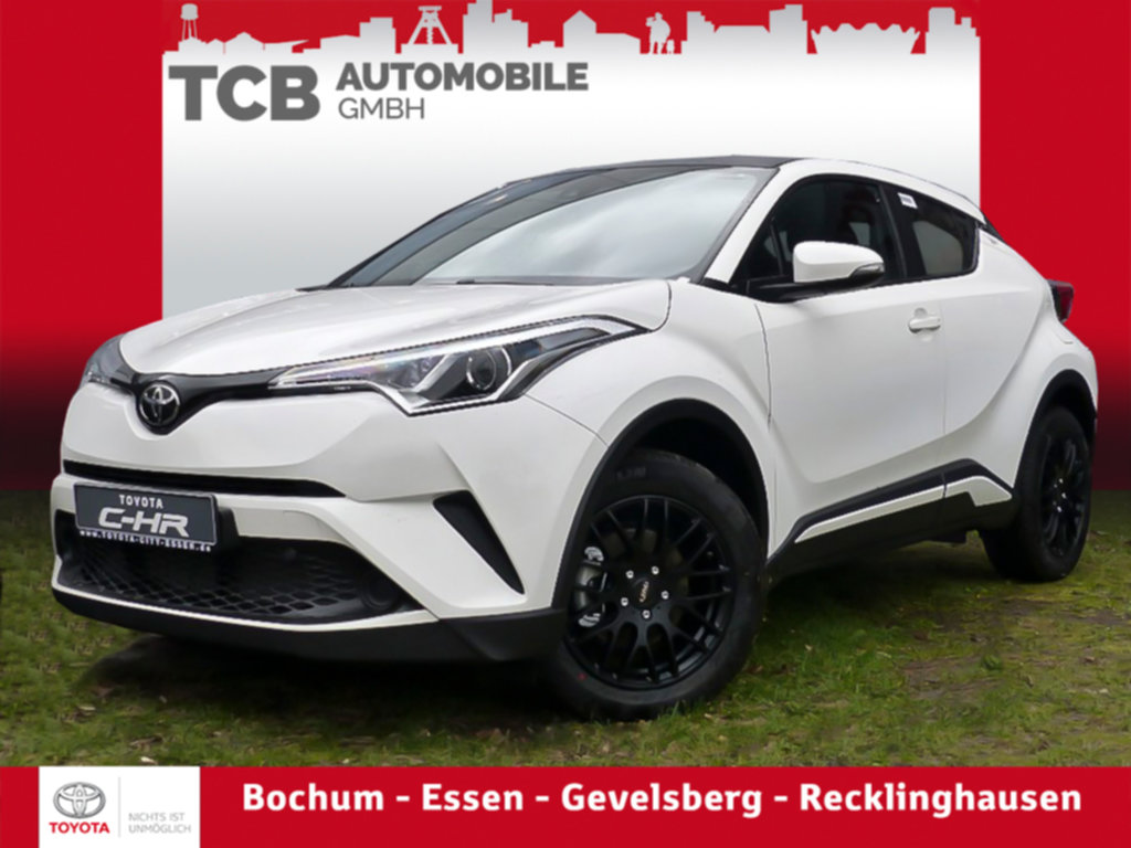 Toyota C-HR 1,2 Turbo Basis *RADIO-CD*BLACK&WHITE, Jahr 2019, petrol