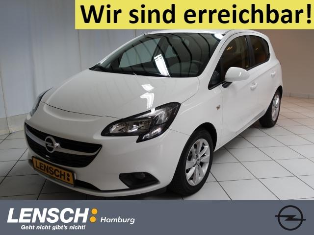 Opel Corsa E 1.2 5T ON INTELLILINK+PDC+BT+USB+SITZHZG, Jahr 2018, Benzin