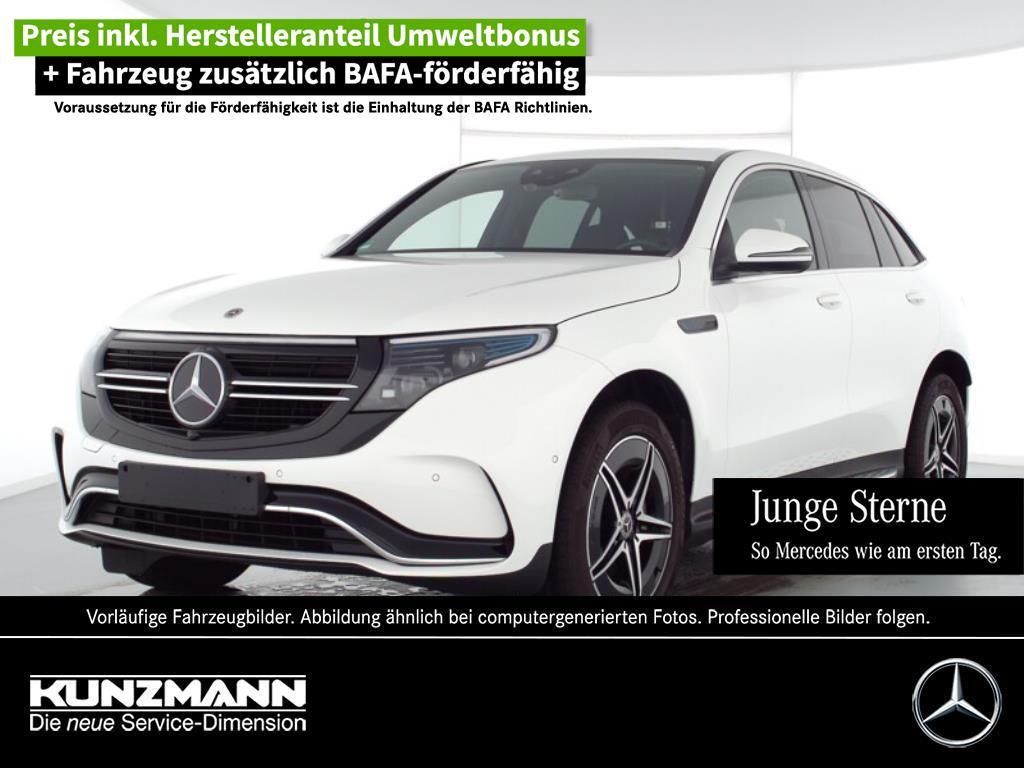 Mercedes-Benz EQC 400 4M AMG MBUX Navi LED Kamera Schiebedach, Jahr 2020, Elektro