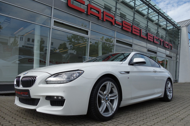 BMW 640i Coupe M Paket PANO/HEADUP/SOFTCL/VIRTUAL/LE, Jahr 2014, Benzin