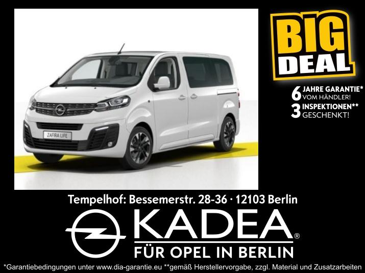 Opel Zafira Life 1.5 M Navi Kamera Kurvenl. Sitzh., Jahr 2020, Diesel