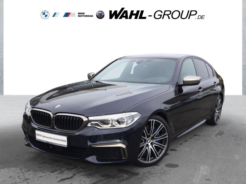 BMW M550i xDrive Night Vision AHK Standheizung Gestik, Jahr 2017, Benzin