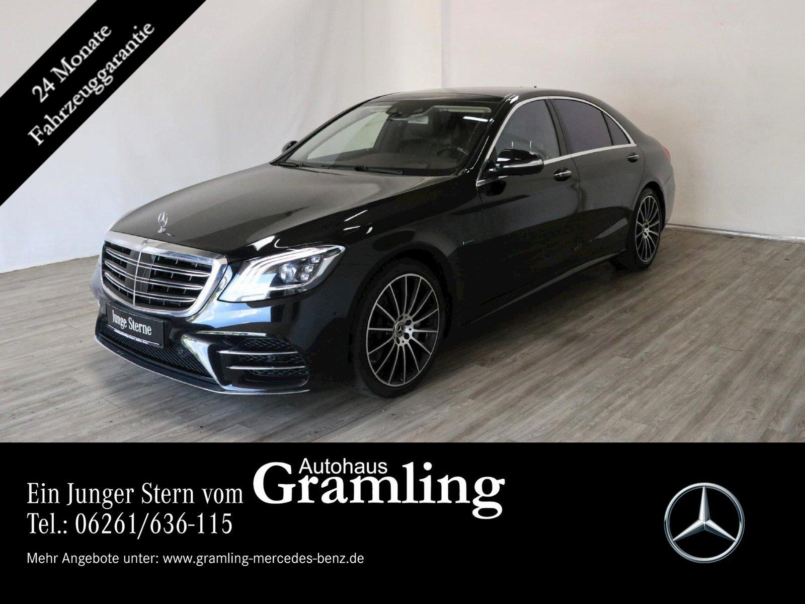 Mercedes-Benz S 560 e L*AMG Plus*Pano*Distr*360°*HUD*Sitzklima, Jahr 2019, Hybrid