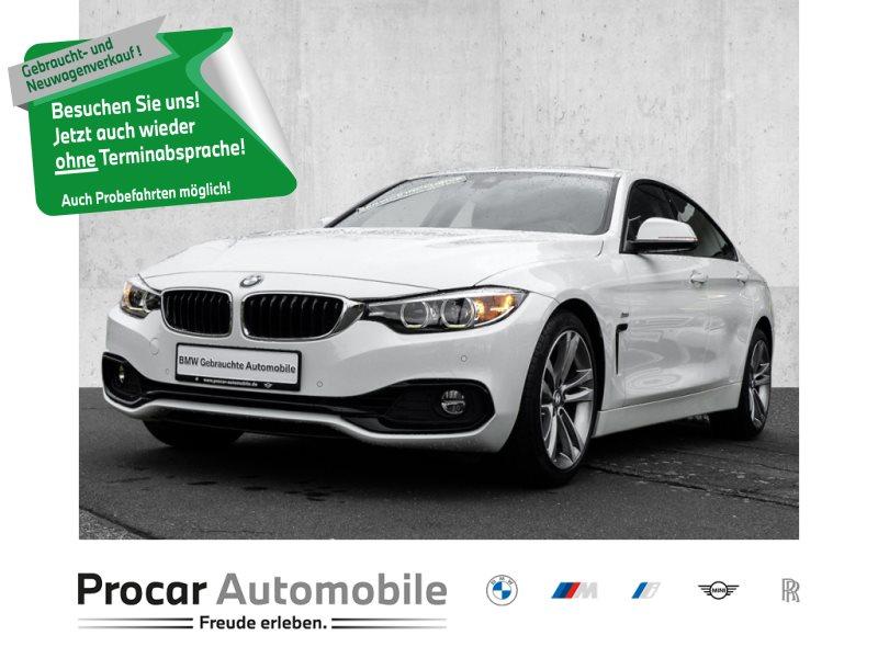 BMW 430i Gran Coup Sport Line HiFi LED WLAN PDC, Jahr 2018, Benzin