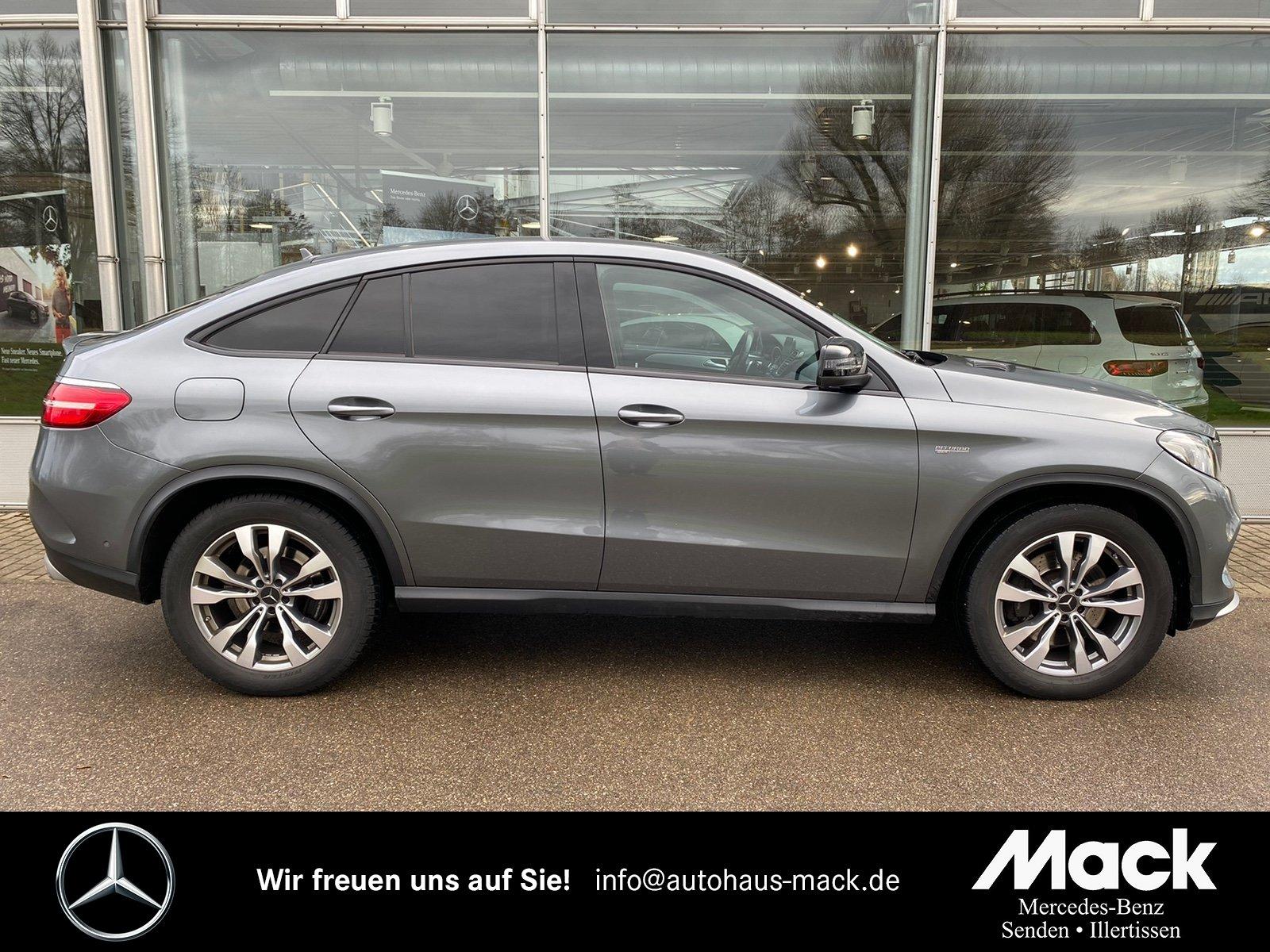 Mercedes-Benz GLE 43 AMG 4M Coupé ILS*360°-Kamera*Nappa-Leder, Jahr 2016, Benzin
