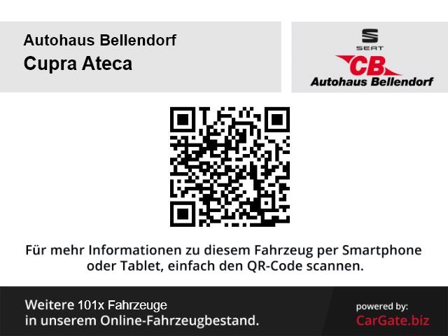 CUPRA Ateca 4Drive Basis 2.0 TSI EU6d-T FULL LINK Navi LED AHK Rückfahrkam., Jahr 2019, Benzin