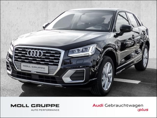 Audi Q2 30 TFSI sport ALUFELGEN AHK NAVI LED, Jahr 2020, Benzin