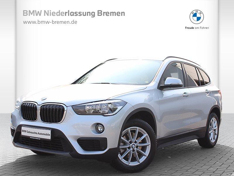BMW X1 sDrive18i Advantage Navi Tempomat Klimaaut., Jahr 2016, Benzin