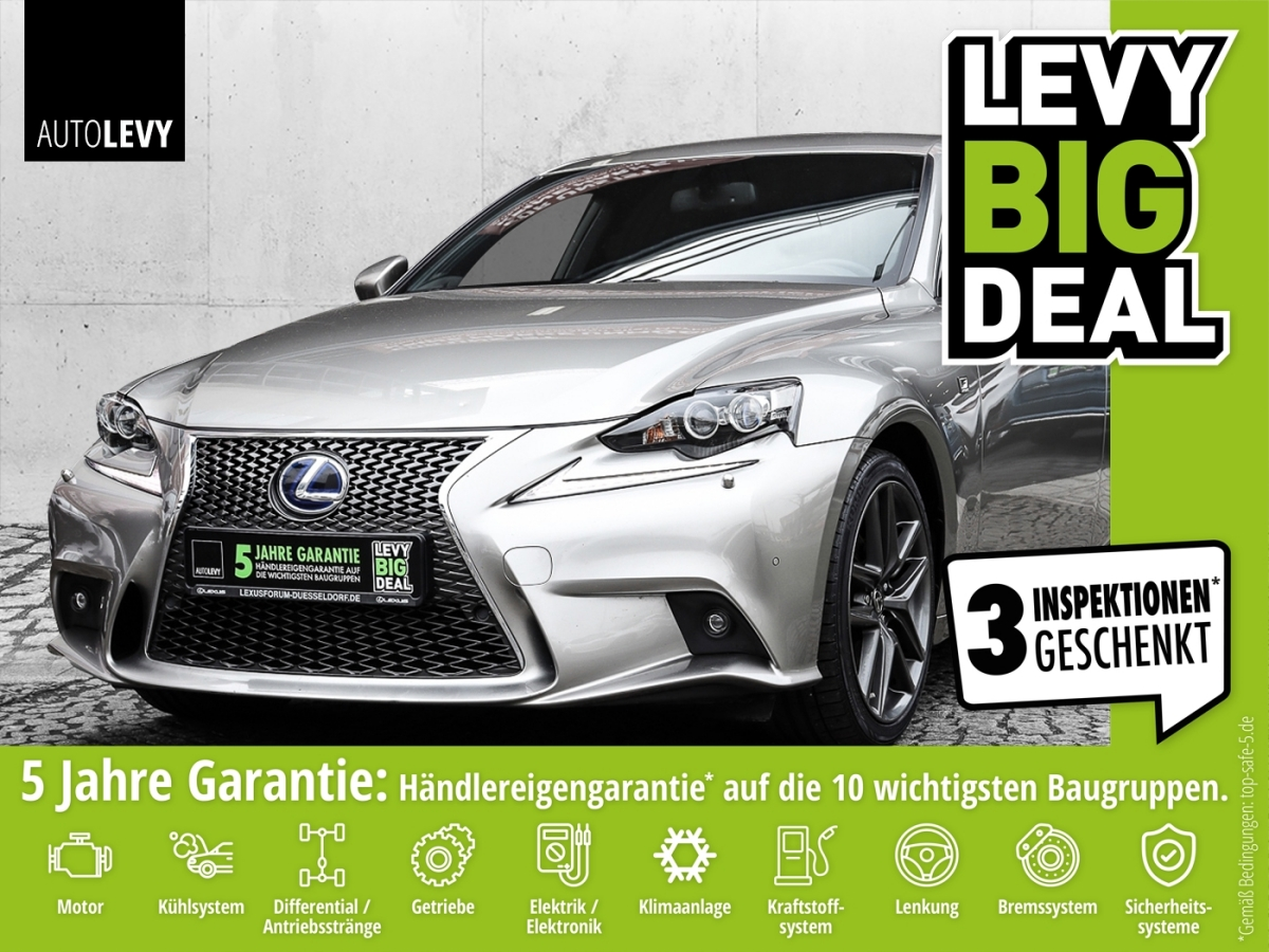 Lexus IS 300h F-Sport *Navi*Xenon*Leder*, Jahr 2015, Hybrid