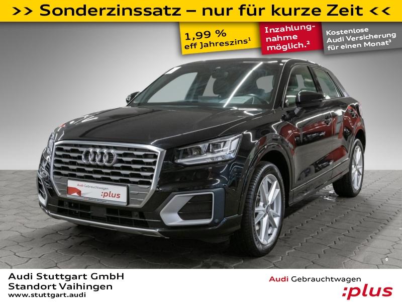 Audi Q2 1.6 TDI S line ACC LED virtCo HeadUp PDCplus, Jahr 2017, Diesel