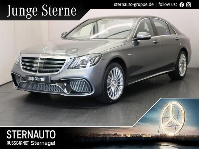 Mercedes-Benz S 65 AMG L FondEnt Bur3D Pano Distr HUD TV LED, Jahr 2018, Benzin