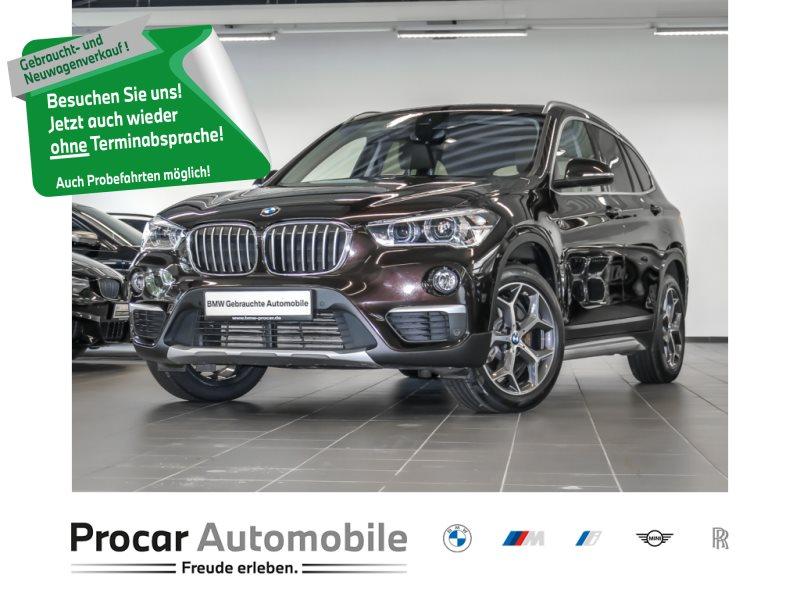 BMW X1 xDrive20d Pano AHK LED Navi Plus HuD xLine, Jahr 2018, Diesel