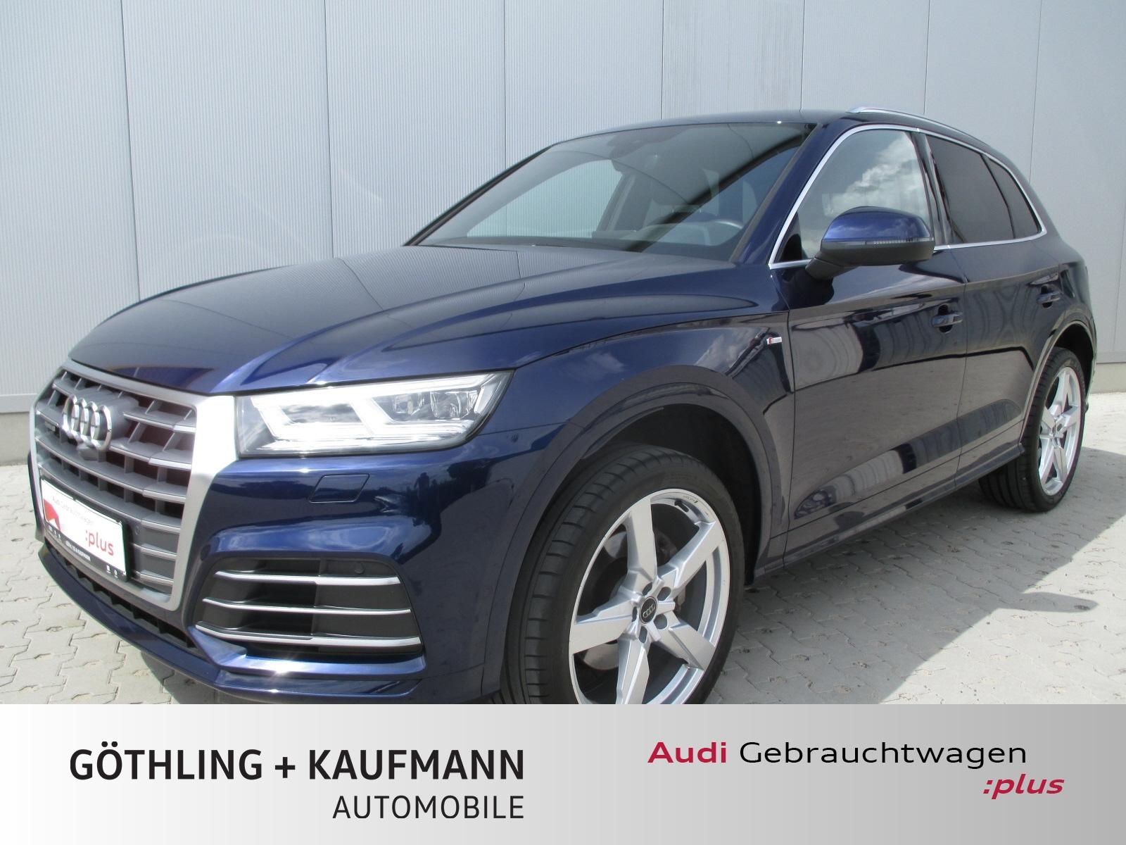Audi Q5 2.0 TDI qu S line S tro. 140kW*Standh.*Kamera, Jahr 2017, Diesel