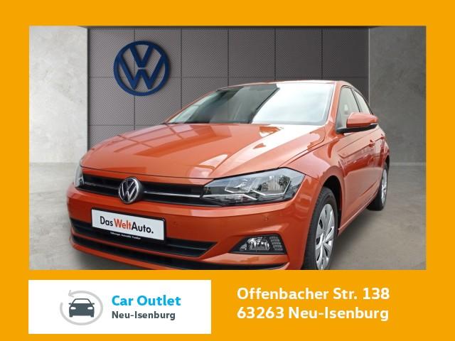 Volkswagen Polo 1.0 Comfortline FrontAssist Climatronic Einparkhilfe POLO 1.0 BMT COMFO 55 M5F, Jahr 2018, Benzin