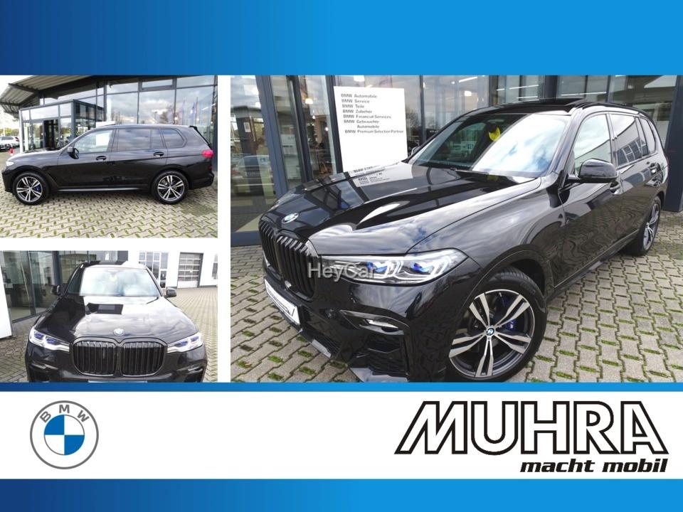 BMW X7 M50iA UPE 140.700 AHK SD Bowers & Wilkins, Jahr 2019, Benzin