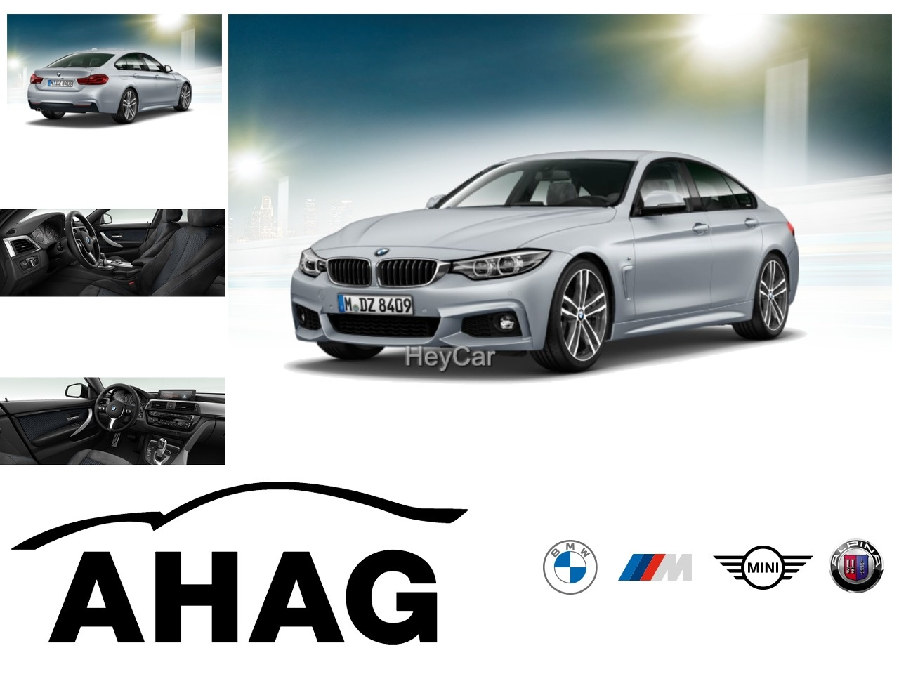 BMW 420 Gran Coupe M Sport M Sportpaket Navi Prof. Aut. Klimaaut. PDC HIFI, Jahr 2017, Benzin