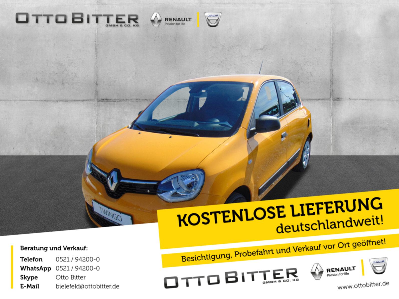 Renault Twingo Life SCe65 Start&Stop, Jahr 2021, Benzin