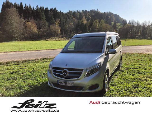 Mercedes-Benz 250 d 4MATIC Marco Polo AHK*NAVI*KAMERA*GLASDACH, Jahr 2019, diesel