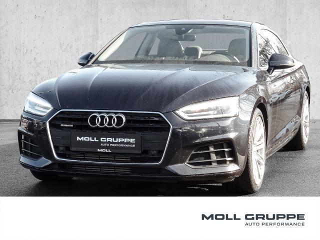 Audi A5 Coupe 2.0 TFSI quattro basis NAVI LEDER PANORAMA, Jahr 2017, Benzin