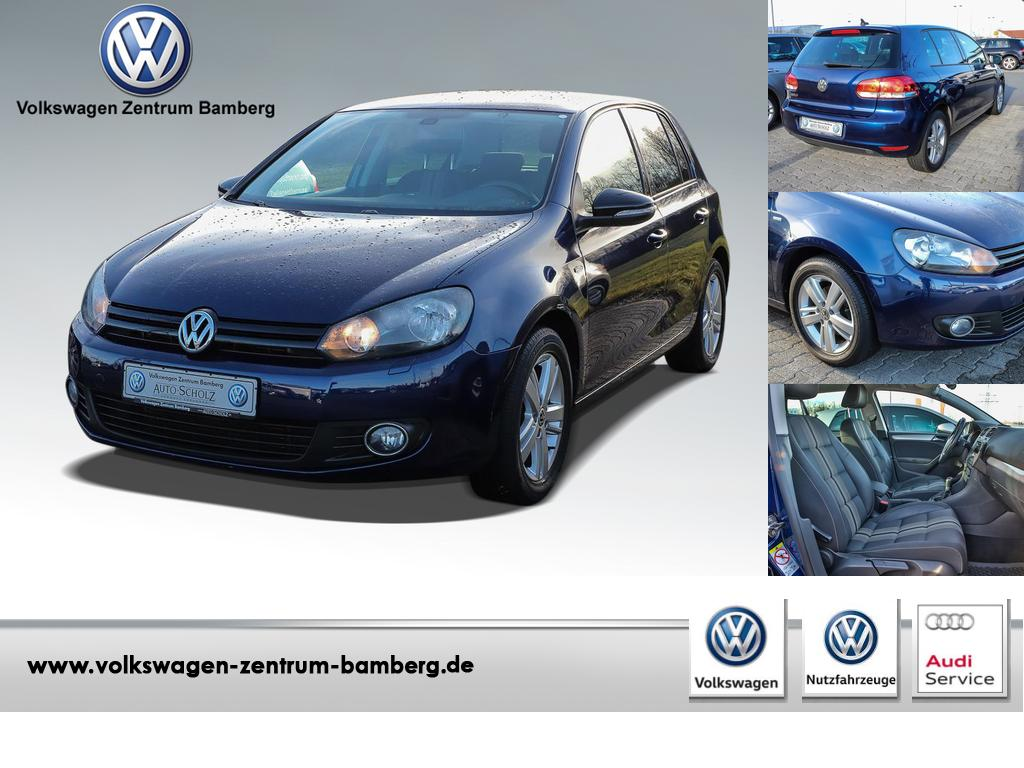 Volkswagen Golf VI 1.2 TSI Match+Sitzhz+PDC, Jahr 2012, petrol