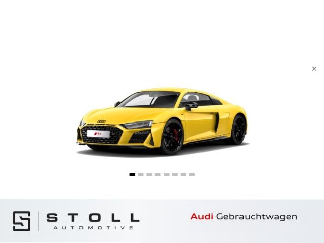 Audi R8 Coupe V10 RWD Schalensitze+Navi+SitzHZG+VirtualCockpit+PDC+++, Jahr 2019, Benzin
