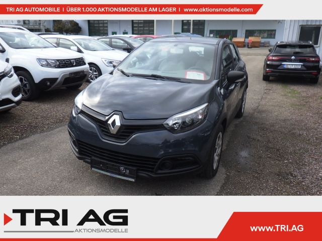 Renault Captur Expression Klima Temp RDC LED CD AUX USB MP3, Jahr 2014, Benzin