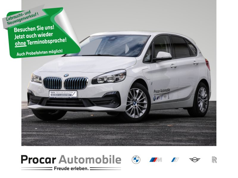 BMW 225xe xDrive iPerformance Active Tour Automatik Bluetooth LM-Felgen Sitzheizung Scheckheft Bordcomputer, Jahr 2018, Hybrid