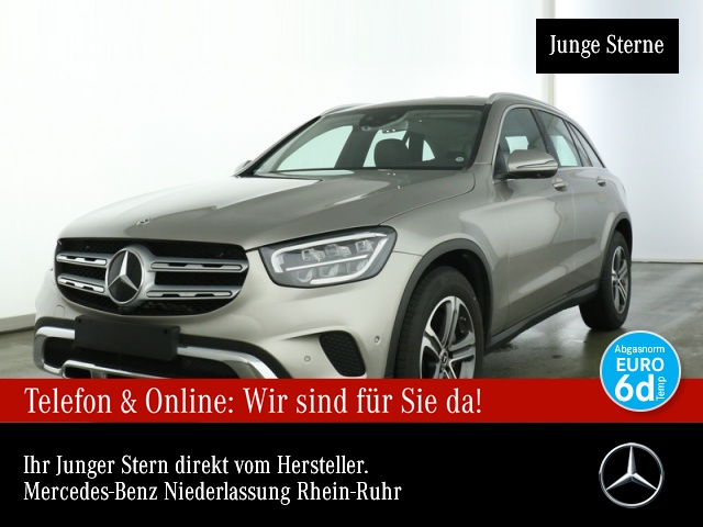 Mercedes-Benz GLC 200 d 4M 360° Distr. LED EDW Spurhalt-Ass 9G, Jahr 2019, Diesel