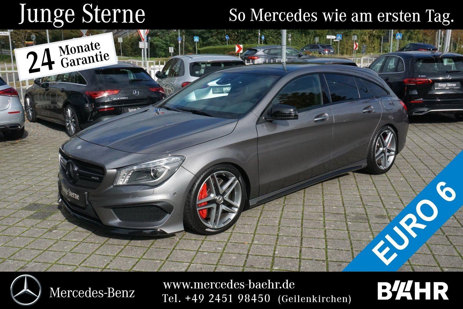 "Mercedes-Benz CLA 45 AMG 4M SB Night/Comand/Bi-Xenon/Pano/18"", Jahr 2016, petrol"