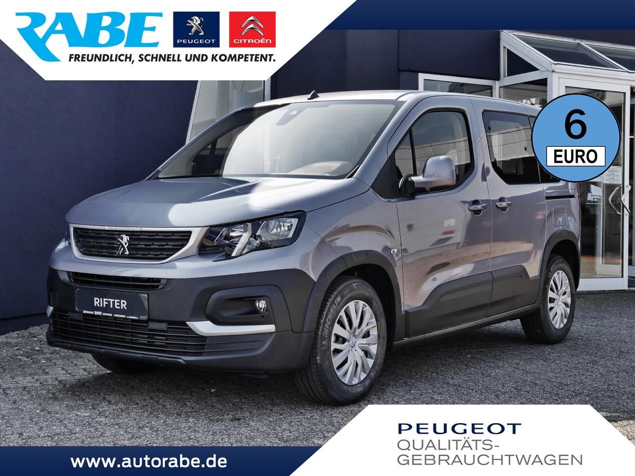 Peugeot Rifter Active L1 110 PT Klima+Sitzheizung+AHK, Jahr 2020, Benzin