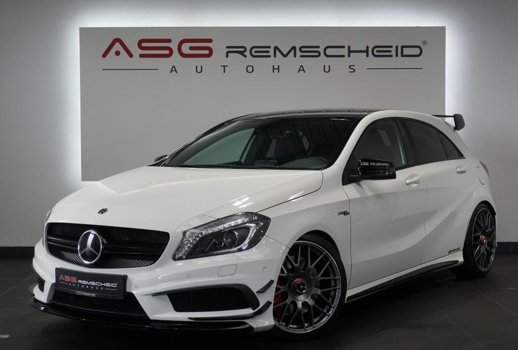Mercedes-Benz A 45 AMG 4M *Aerodynamik *Sport-AbGas *Distr. *, Jahr 2014, Benzin