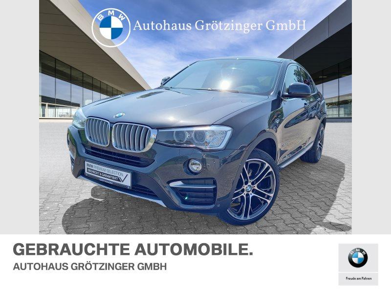 BMW X4 xDrive30d xLine Head-Up HiFi Xenon RFK Shz, Jahr 2016, Diesel