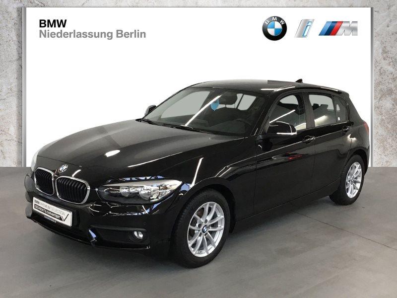 BMW 116i 5-Türer EU6 Klimaaut. Sitzheiz. Servotronic, Jahr 2017, Benzin