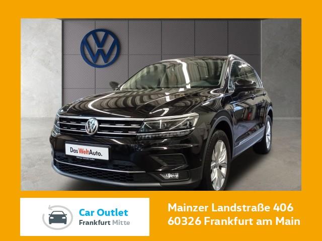 Volkswagen Tiguan 2.0 TSI DSG Highline Navi Standheizung Rückfahrkamera Tiguan 2.0 HLBMT4M 162TSID7A, Jahr 2018, Benzin