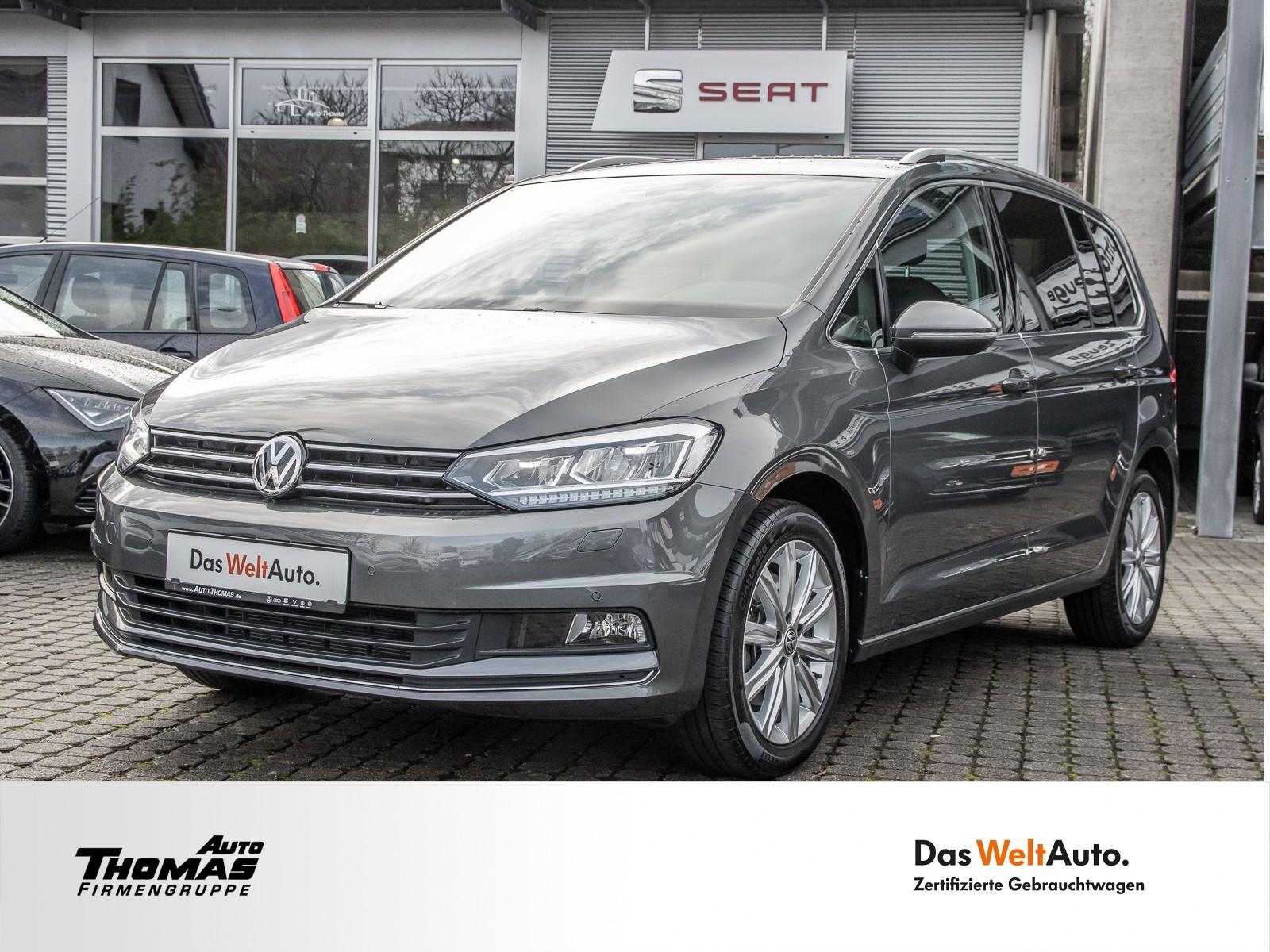 "Volkswagen Touran ""Highline"" 1.5 TSI LED+NAVI+7SITZER, Jahr 2019, petrol"
