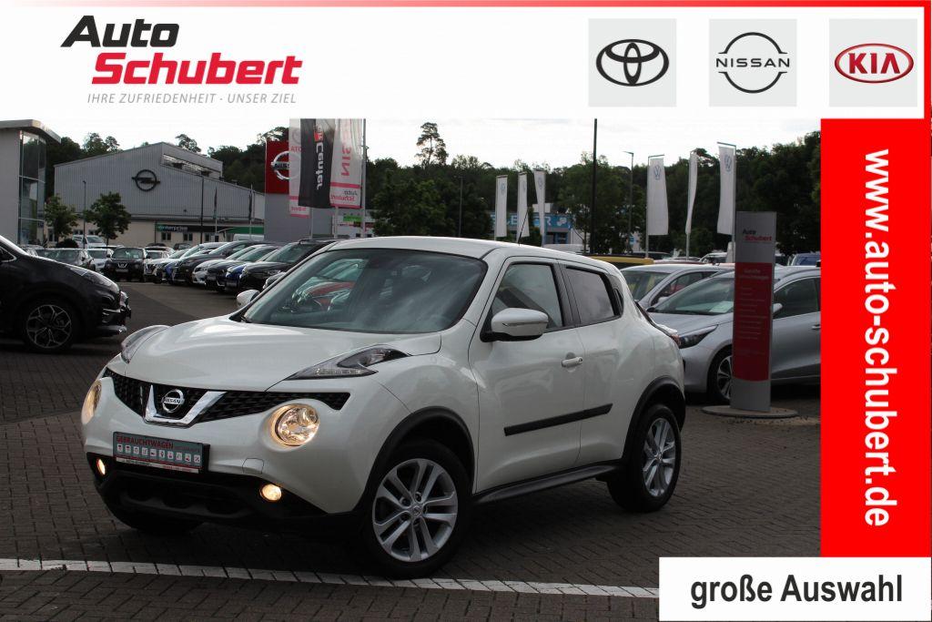 Nissan Juke 1.2 DIG-T N-Connecta+Navi+Klimaautomatik+Paket: Interieur, Jahr 2017, Benzin