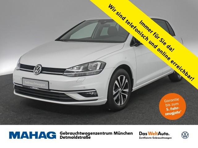 Volkswagen Golf VII 1.6 TDI IQ.DRIVE Navi AHK ParkLenkAssist Bluetooth BlindSpot LaneAssist 5-Gang, Jahr 2019, Diesel