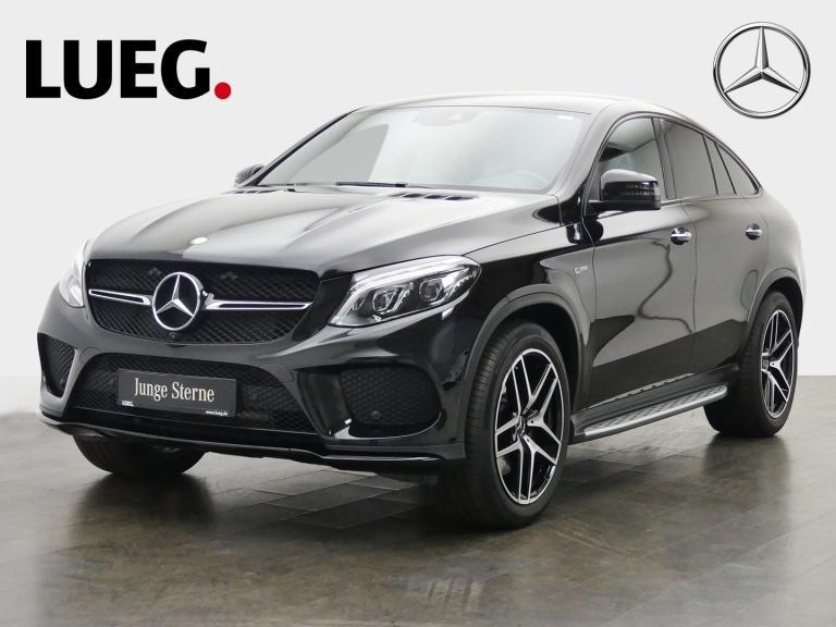 Mercedes-Benz GLE 43 AMG 4M Coupé Navi+LED+Airm+21+AHK+H&K+360, Jahr 2016, Benzin