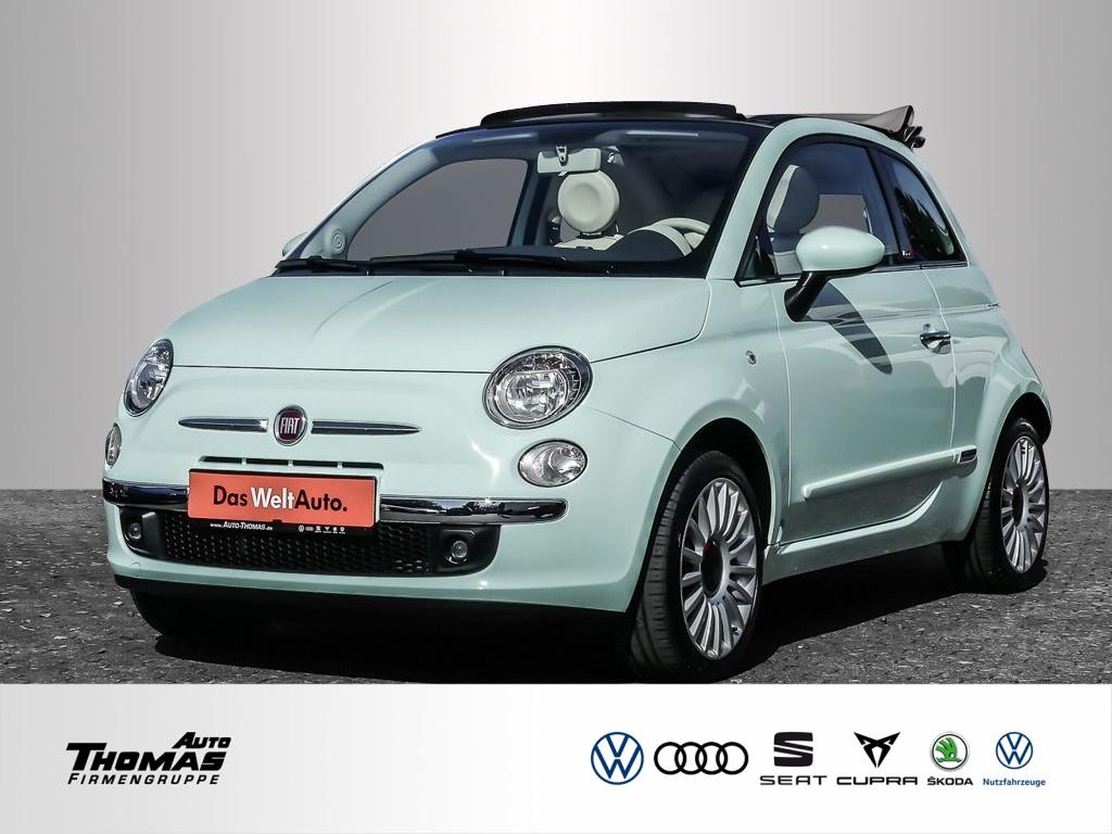 Fiat 500C 1.2 8V Lounge 5-Gang *KLIMA*EINPARKHILFE*, Jahr 2015, Benzin