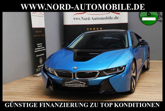 BMW i8 Coupe*20*Navi*LED*Head-Up*Leder*, Jahr 2016, Hybrid