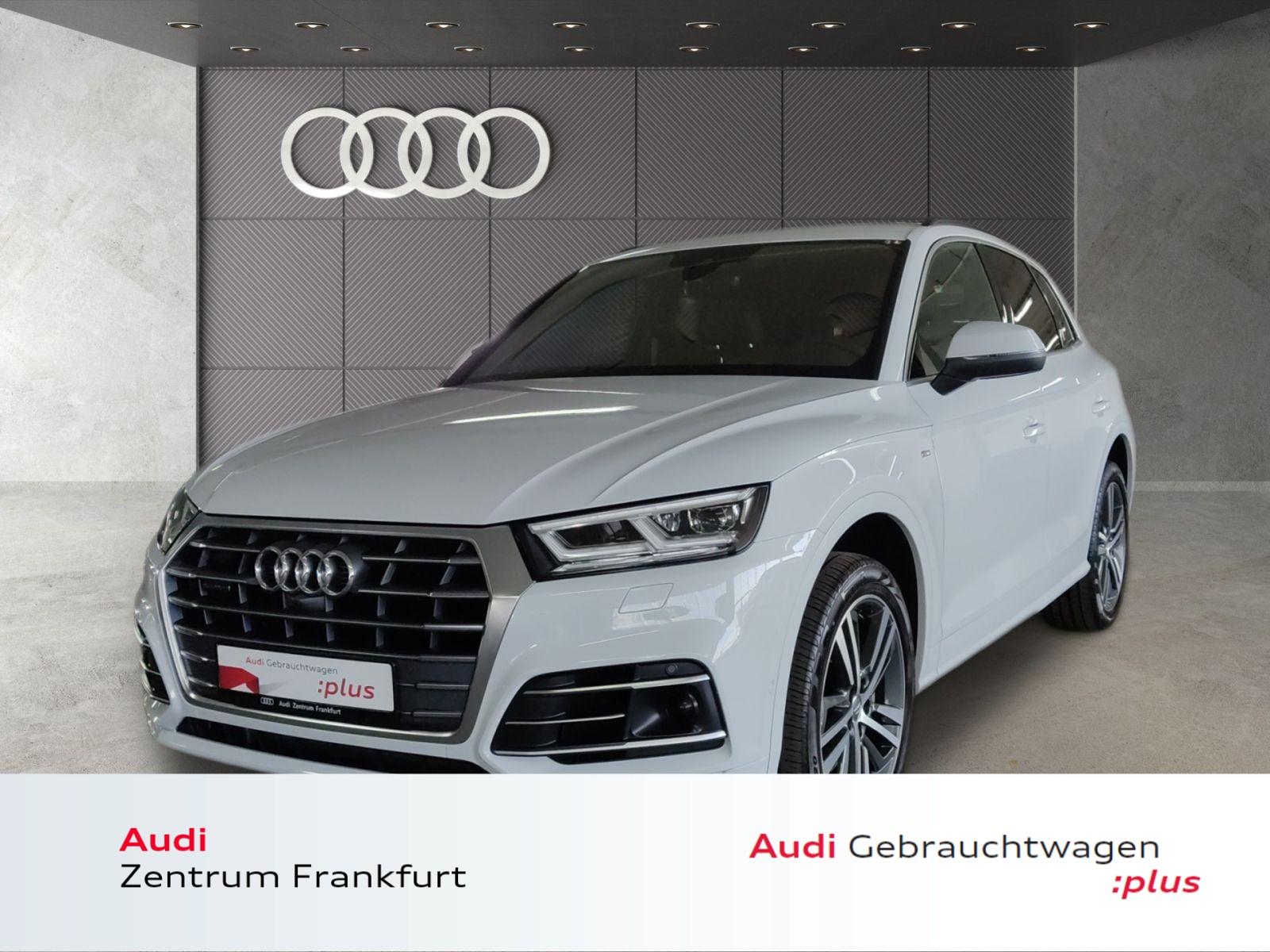 Audi Q5 50 TDI quattro tiptronic S line ACC MatrixLED VC HuD DAB, Jahr 2019, Diesel