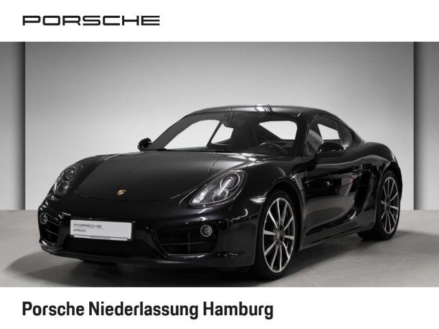 Porsche Cayman Black Edition 2.7 PDK PDLS 20-Zoll, Jahr 2016, Benzin