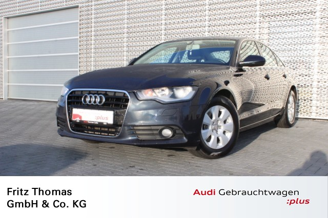 Audi A6 2.0 TDI Multitronic AHK Leder APS SHZ Klima, Jahr 2012, Diesel