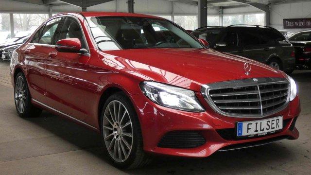 Mercedes-Benz C 300 *AVANTGARDE*EXCLUSIVE*TV-Tuner*Comand*PTC*, Jahr 2016, petrol